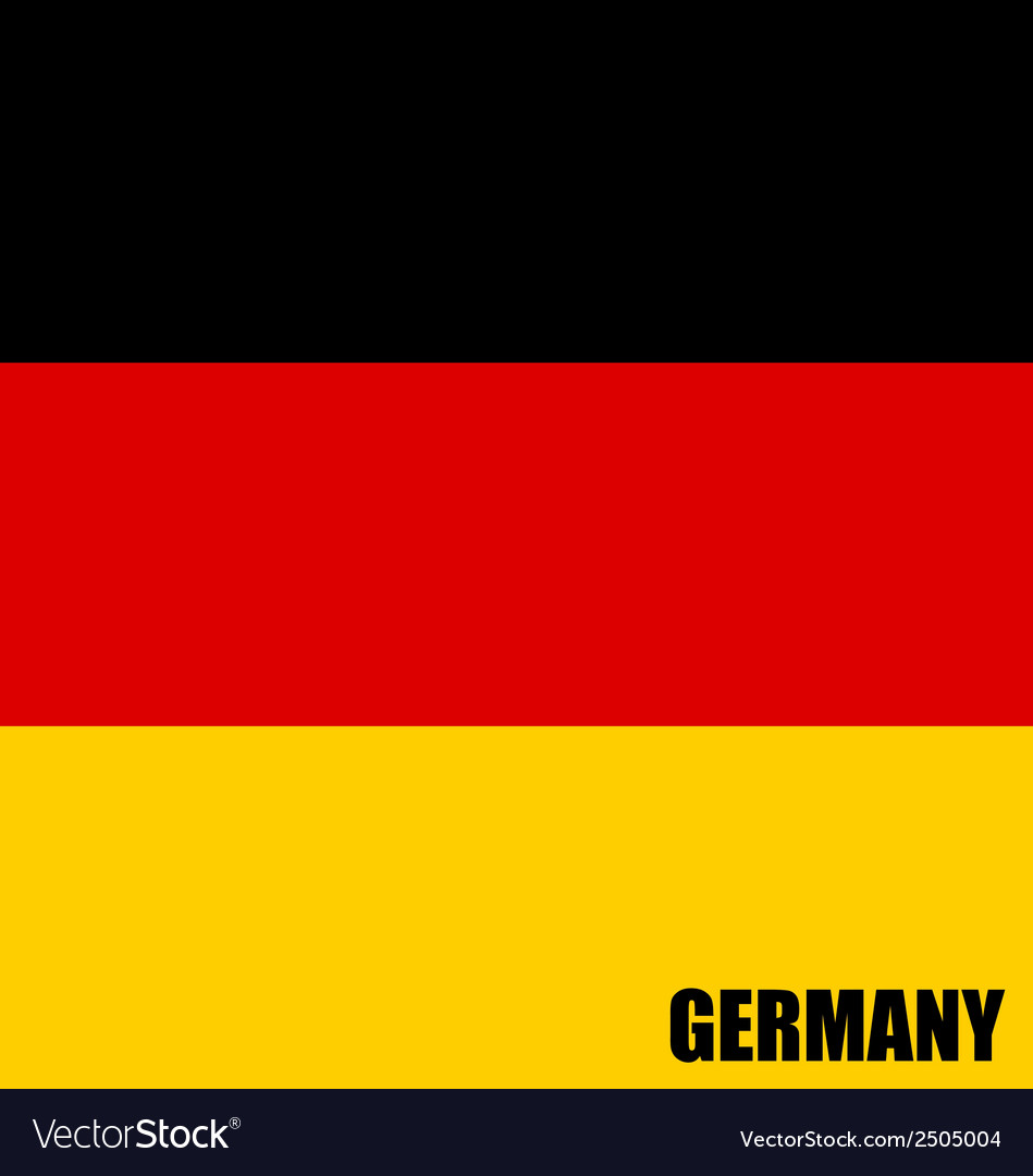 Germany flags concept design vector | Price: 1 Credit (USD $1)