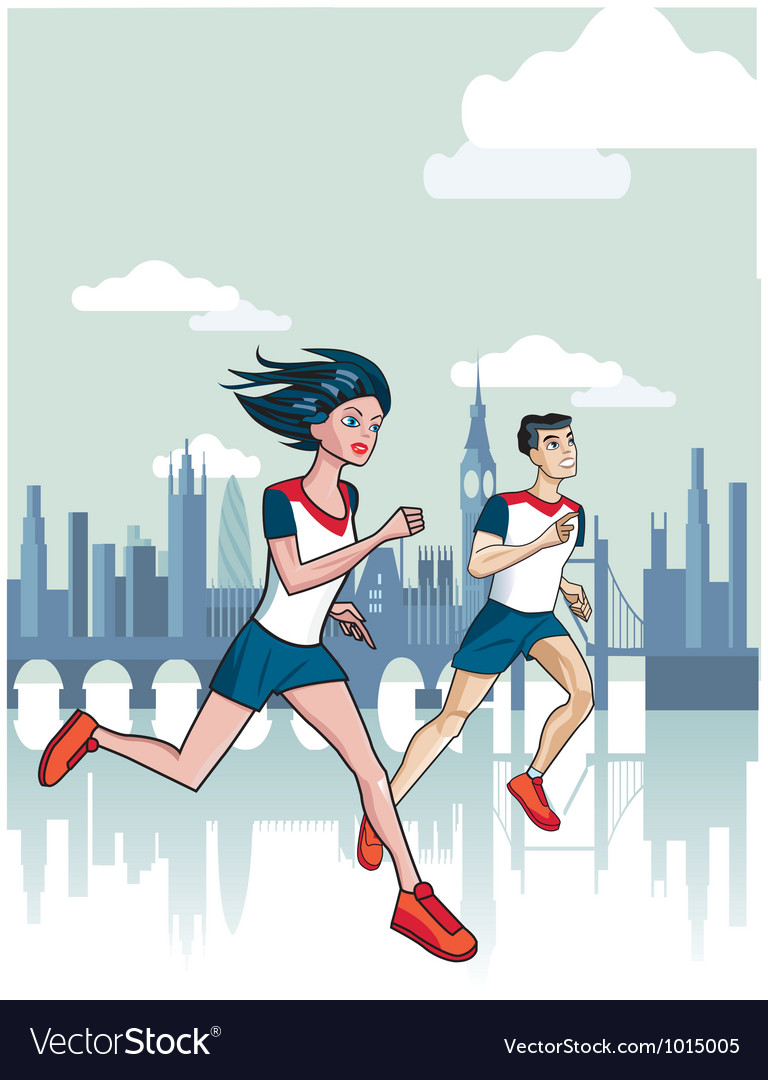 London runners vector