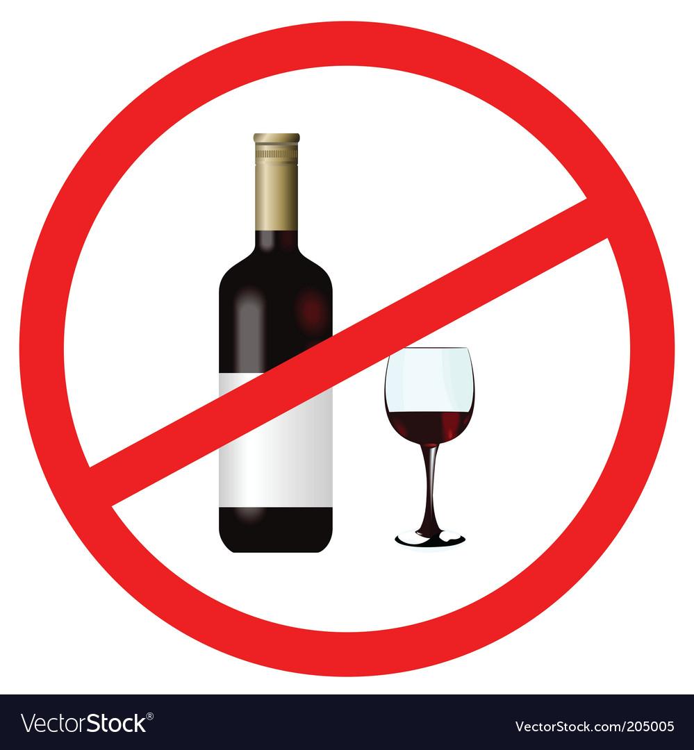 No alcohol vector   Price: 1 Credit (USD $1)