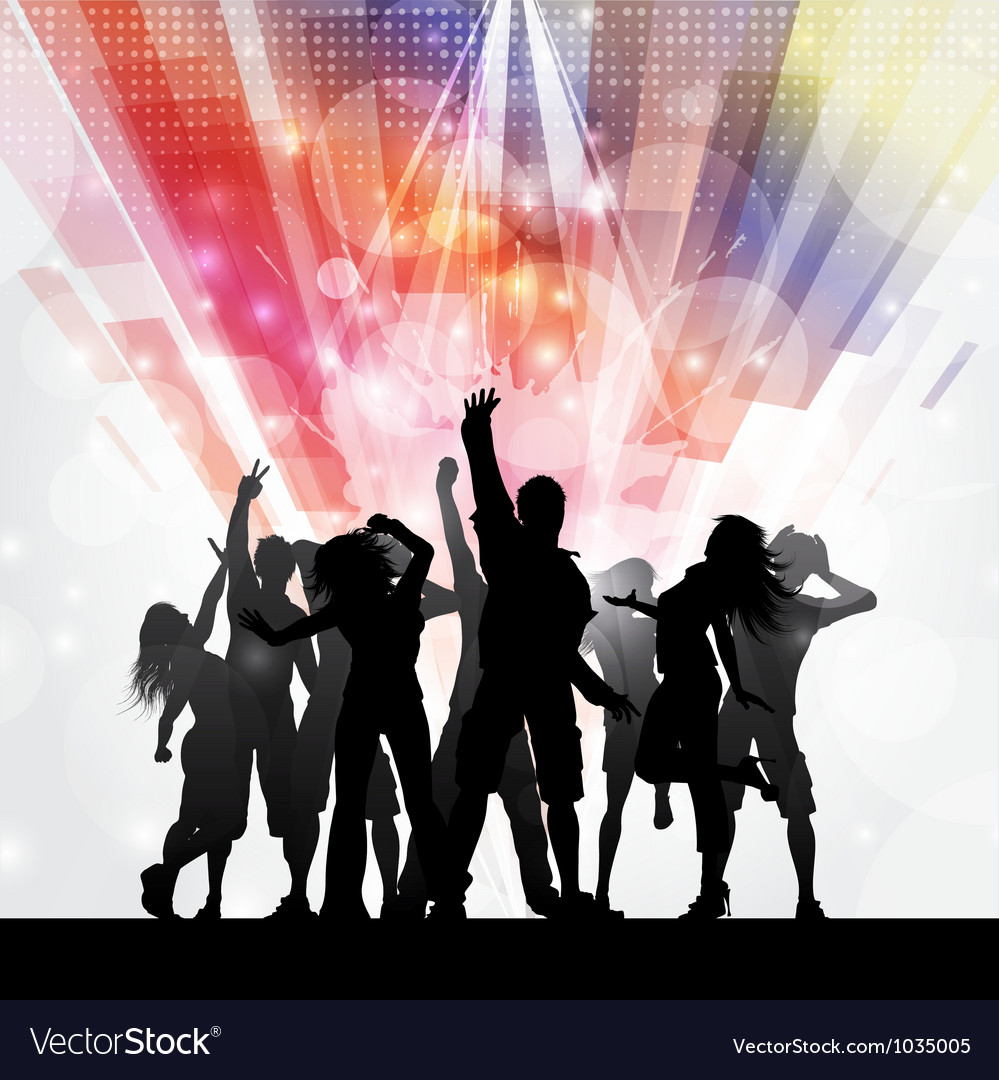 Party people background 1009 vector | Price: 1 Credit (USD $1)