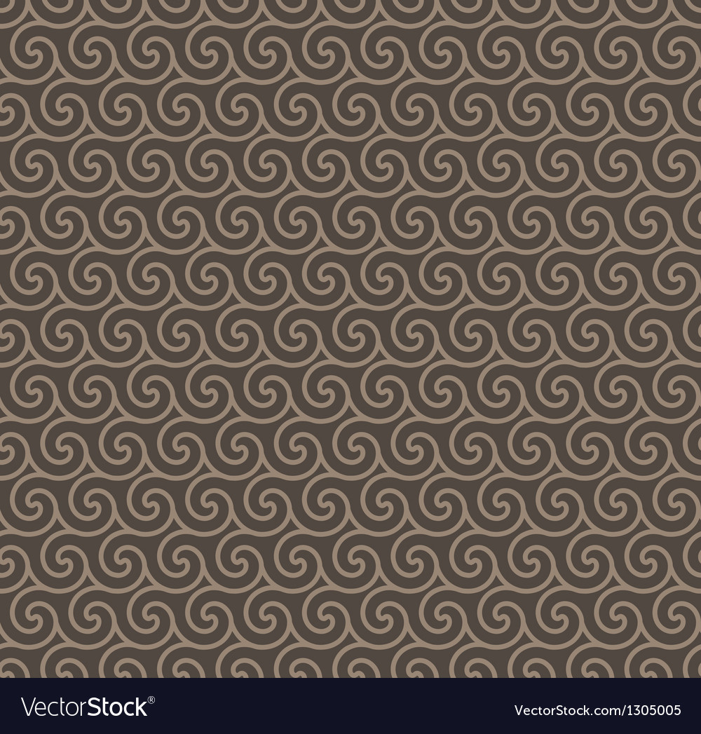 Rosy brown colors wave pattern vector | Price: 1 Credit (USD $1)