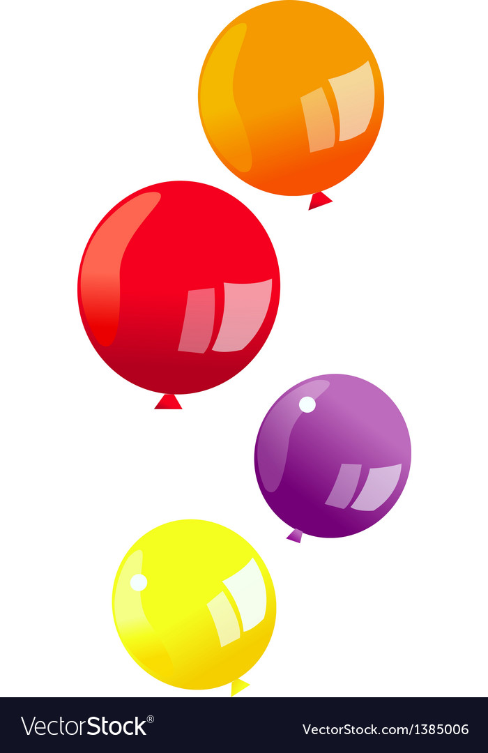 A view of a balloon vector   Price: 1 Credit (USD $1)