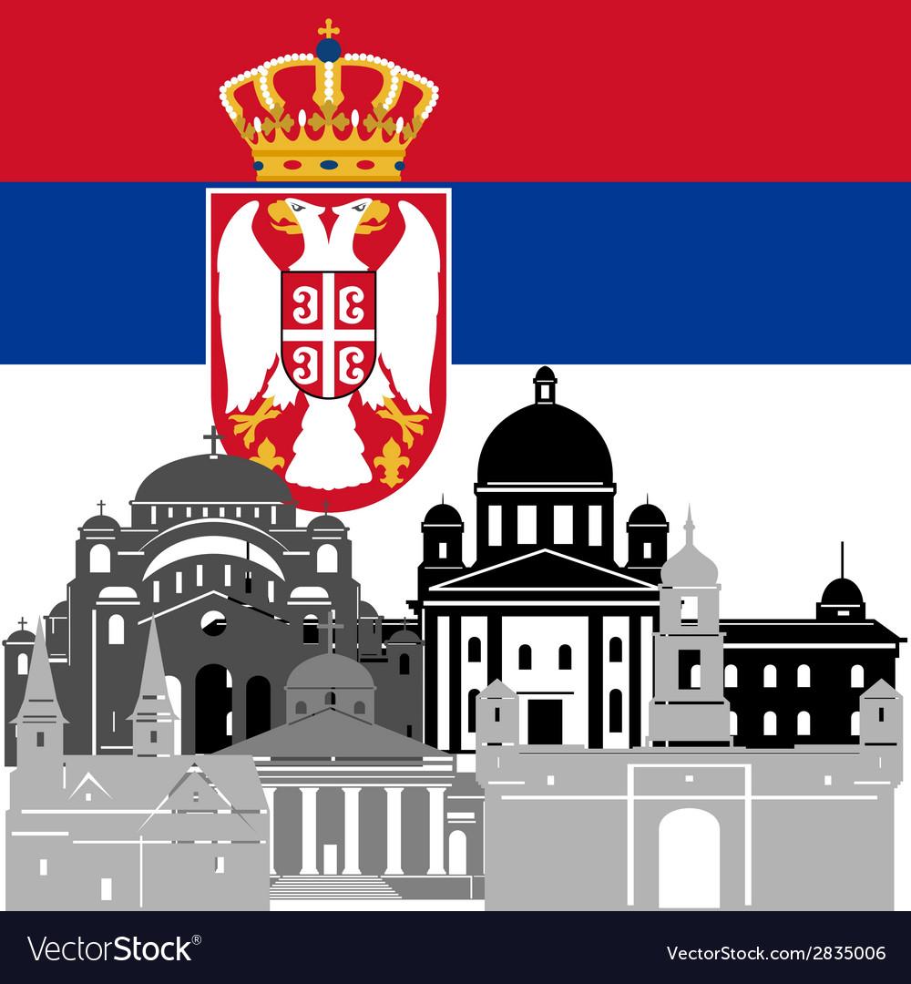 Serbia vector   Price: 1 Credit (USD $1)