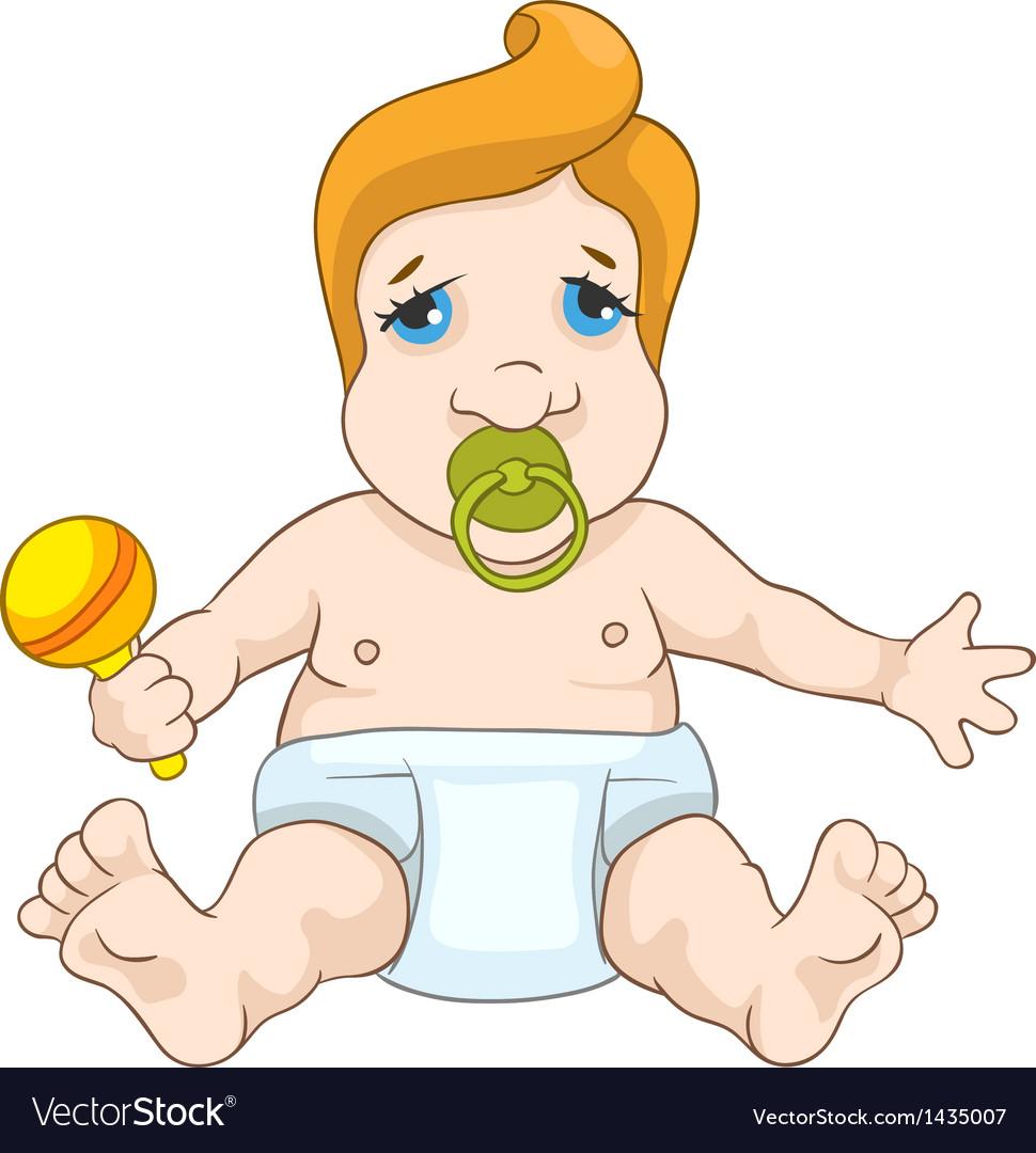 Cute baby vector | Price: 1 Credit (USD $1)