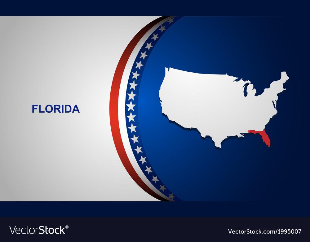 Florida vector | Price: 1 Credit (USD $1)
