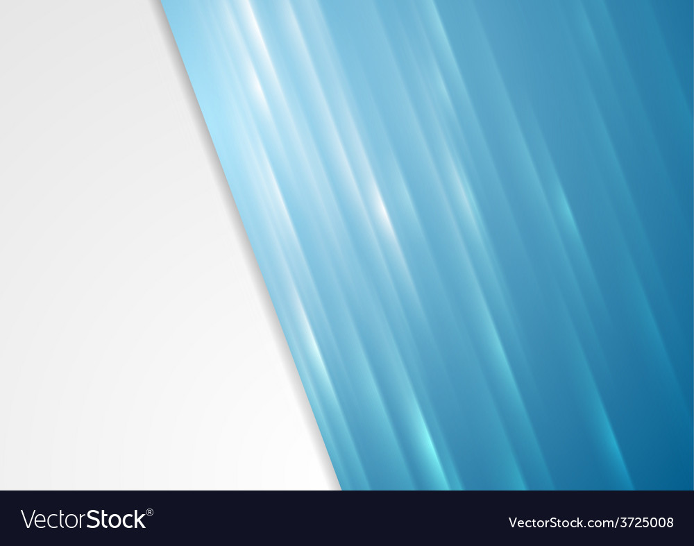 Bright blue stripes background vector | Price: 1 Credit (USD $1)