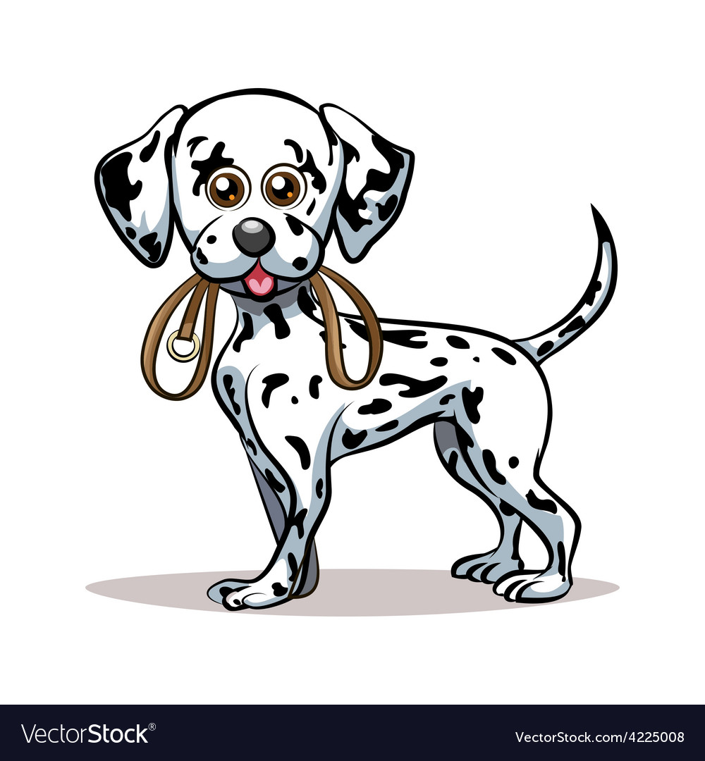 Dalmatian puppy vector | Price: 3 Credit (USD $3)