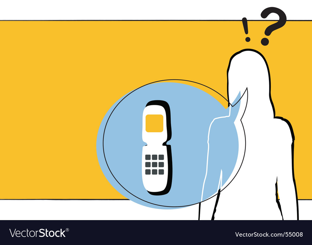 Phone call vector | Price: 1 Credit (USD $1)