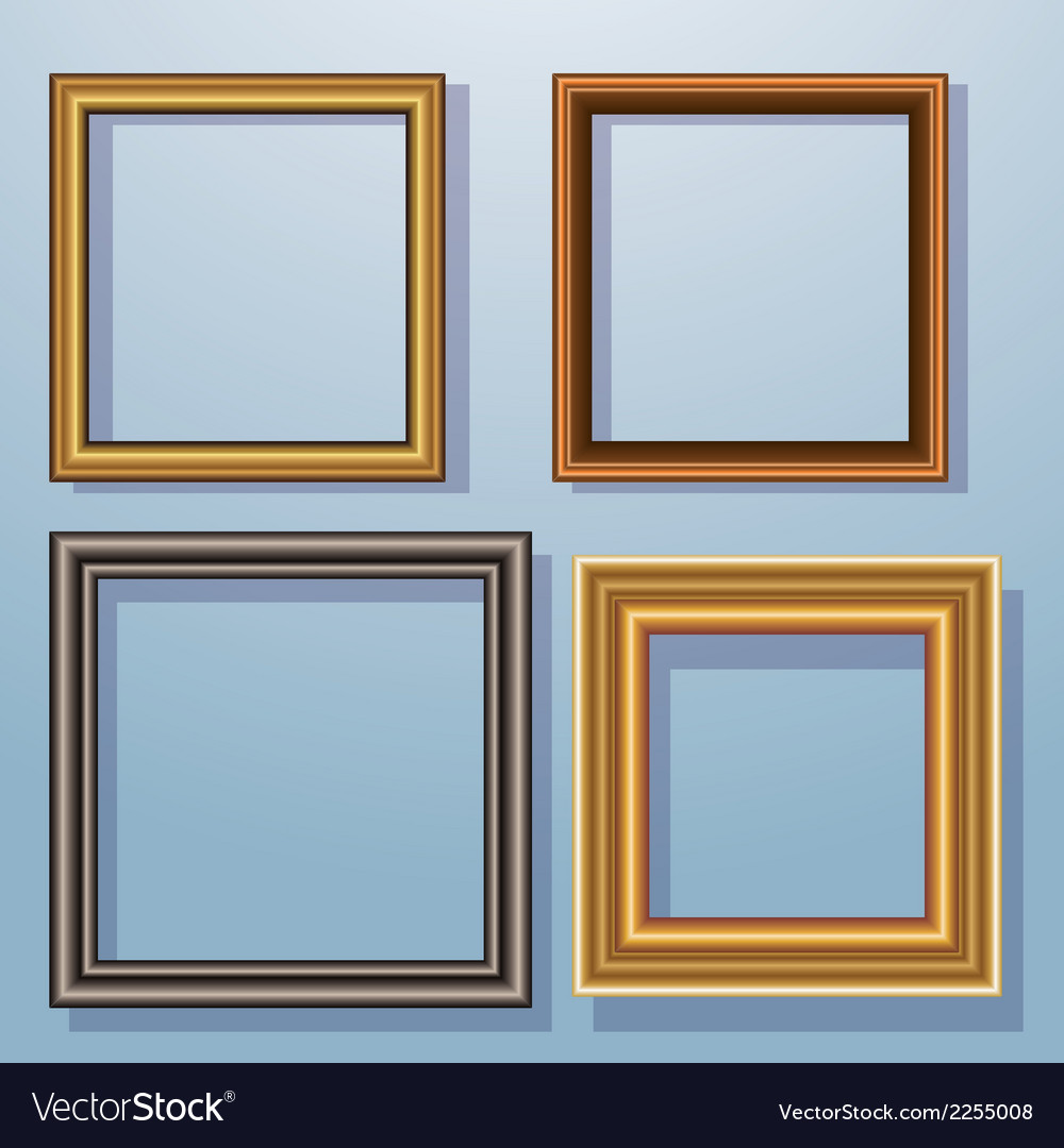 Picture frames vector | Price: 1 Credit (USD $1)