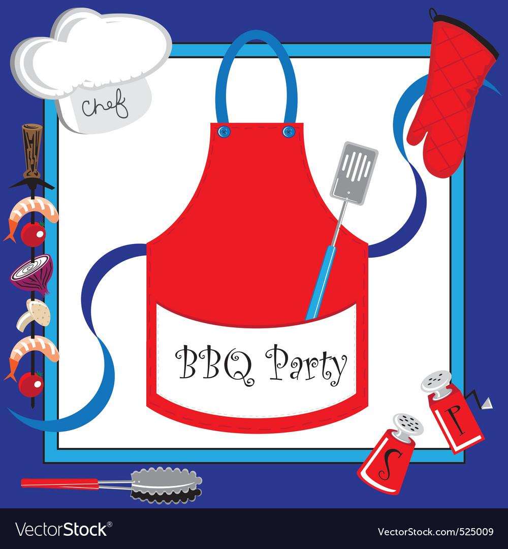 Barbecue party vector | Price: 3 Credit (USD $3)