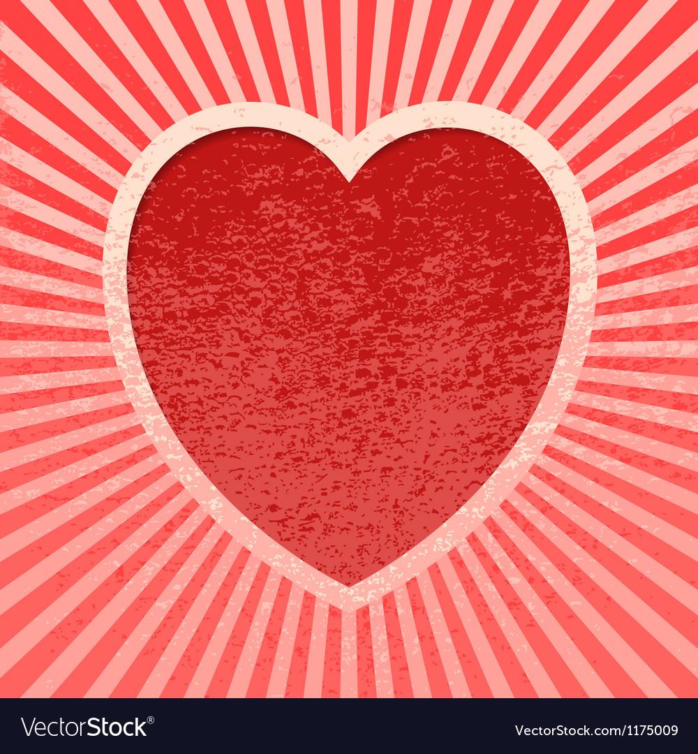 Pink grunge valentine vector | Price: 1 Credit (USD $1)