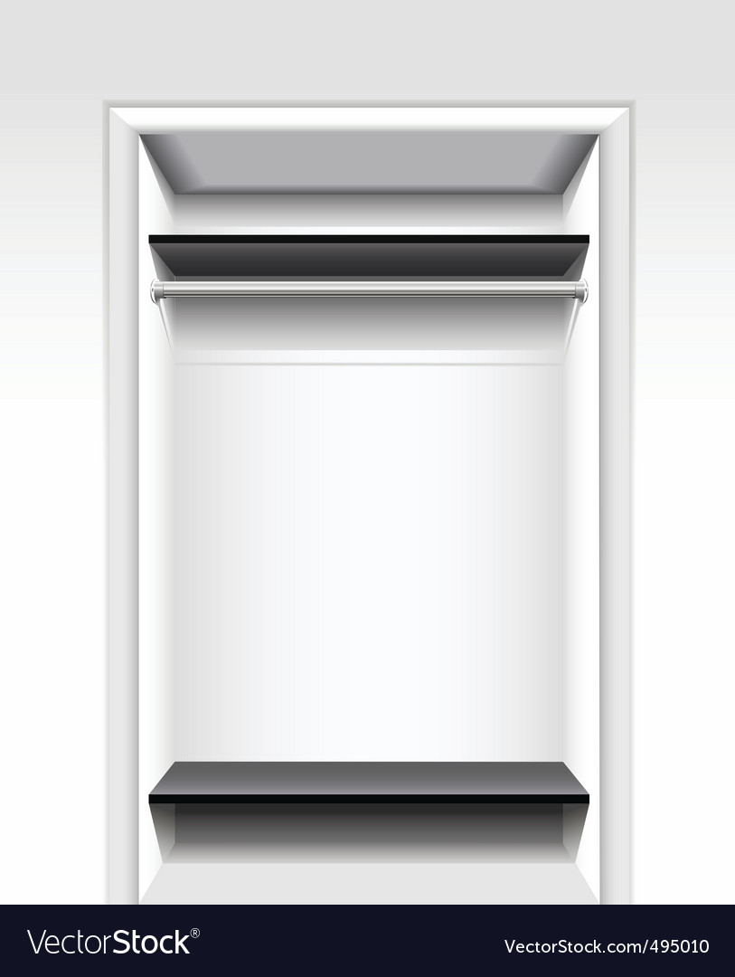 Built-in wardrobe vector | Price: 1 Credit (USD $1)