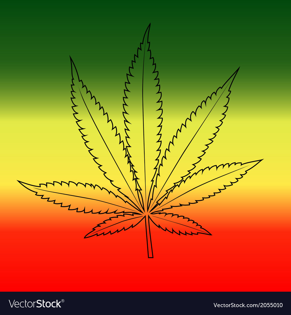 Marijuana leaf background vector | Price: 1 Credit (USD $1)
