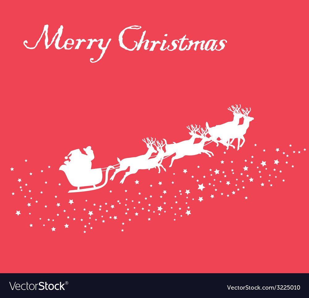 Santa stars vector | Price: 1 Credit (USD $1)