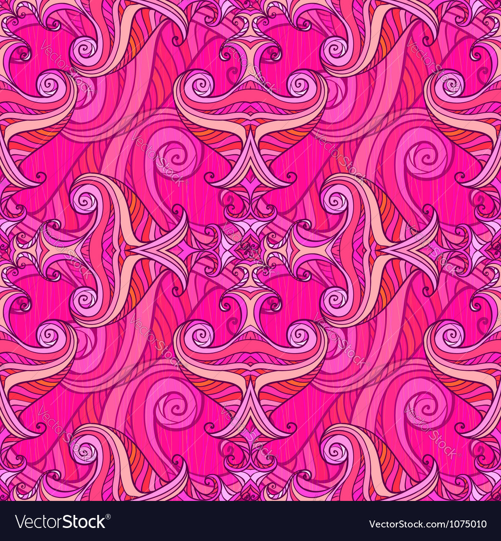 Violet waves seamless background vector   Price: 1 Credit (USD $1)