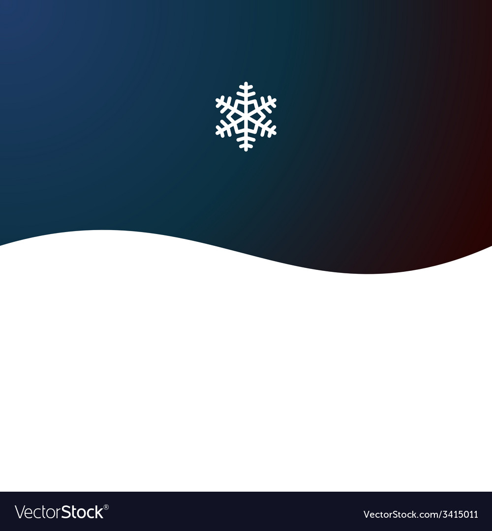 Christmas abstract background with snowflake vector | Price: 1 Credit (USD $1)