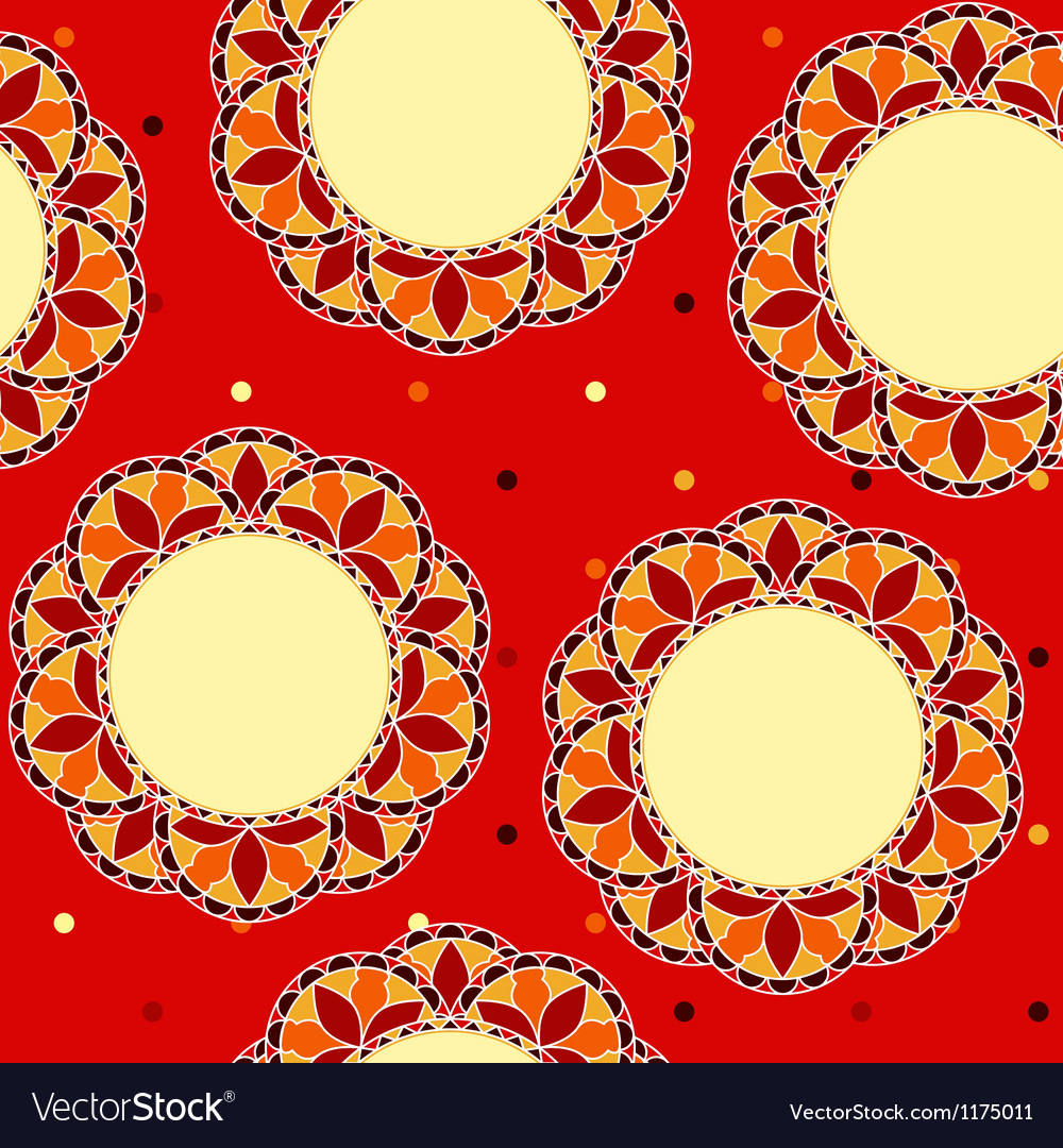 Decor floral seamless vector | Price: 1 Credit (USD $1)