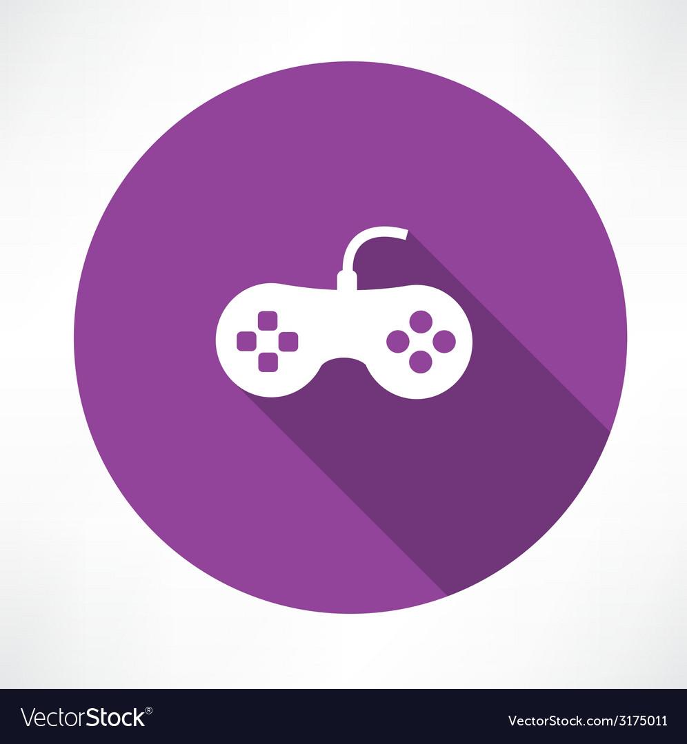 Joystick icon vector | Price: 1 Credit (USD $1)