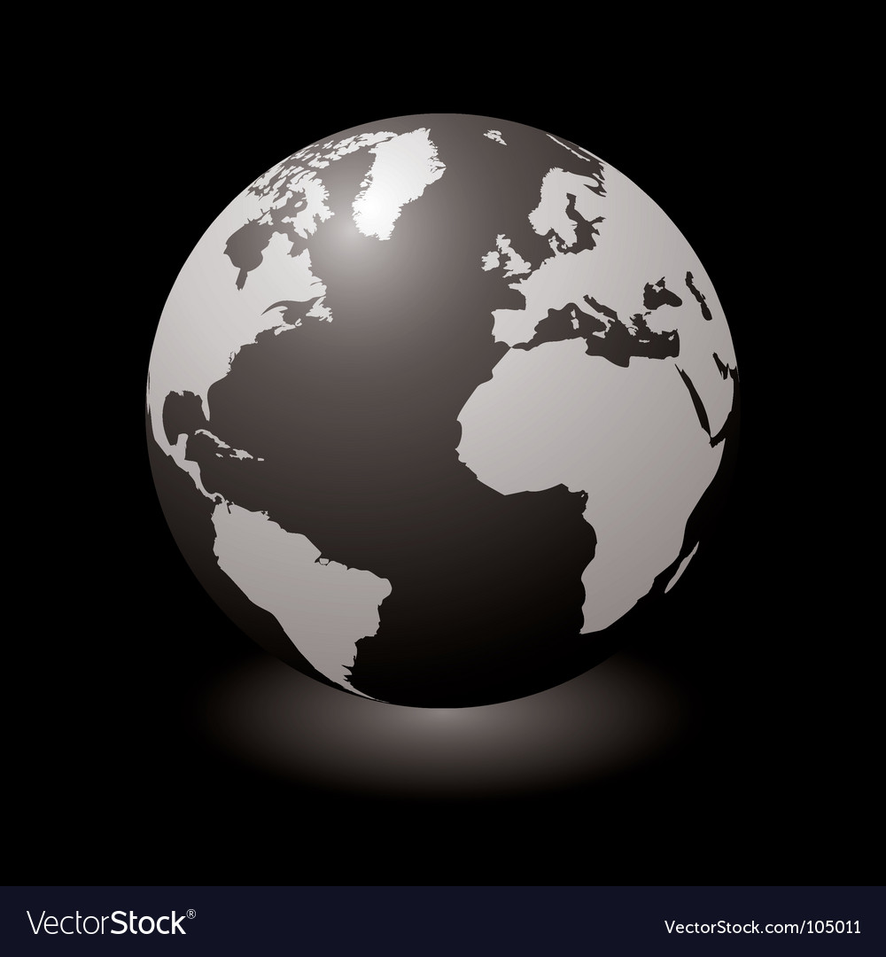 World black glow vector | Price: 1 Credit (USD $1)