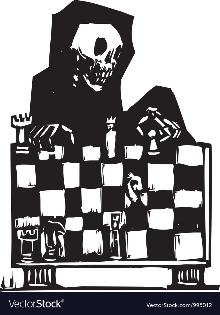 Chess and death vector | Price: 1 Credit (USD $1)