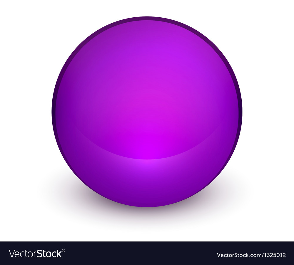 Color matte light sphere button vector | Price: 1 Credit (USD $1)