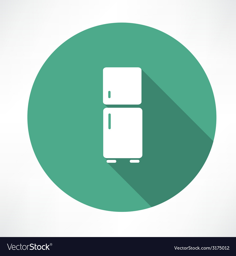 Refrigerator icon vector | Price: 1 Credit (USD $1)