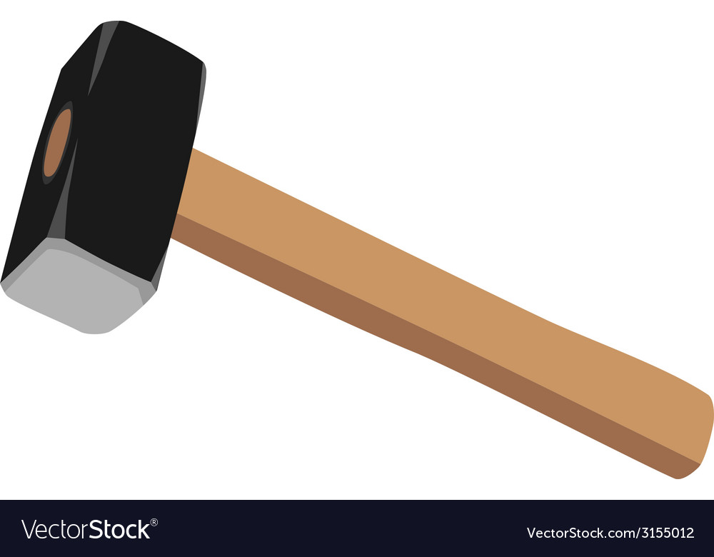 Sledge hammer vector | Price: 1 Credit (USD $1)