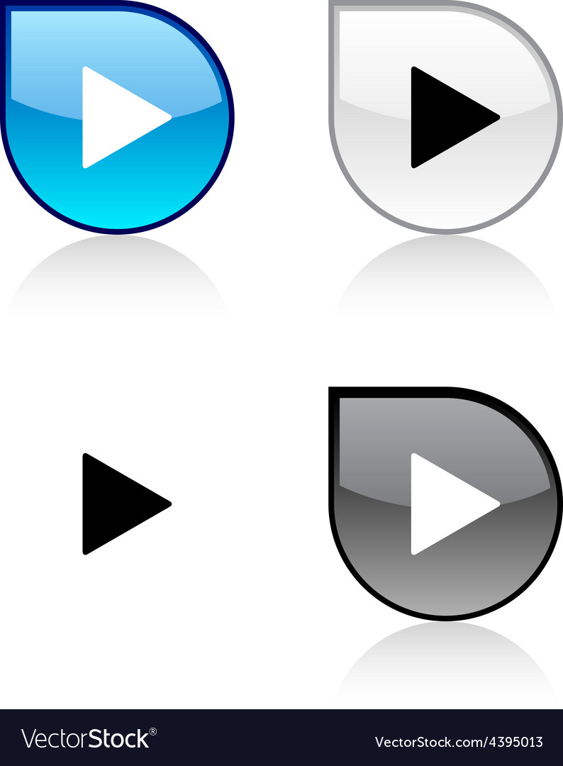 Play button vector   Price: 1 Credit (USD $1)
