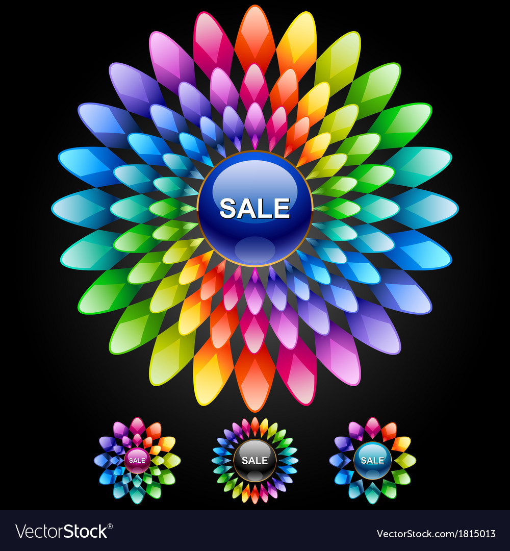 Set of design elements for sales vector   Price: 1 Credit (USD $1)