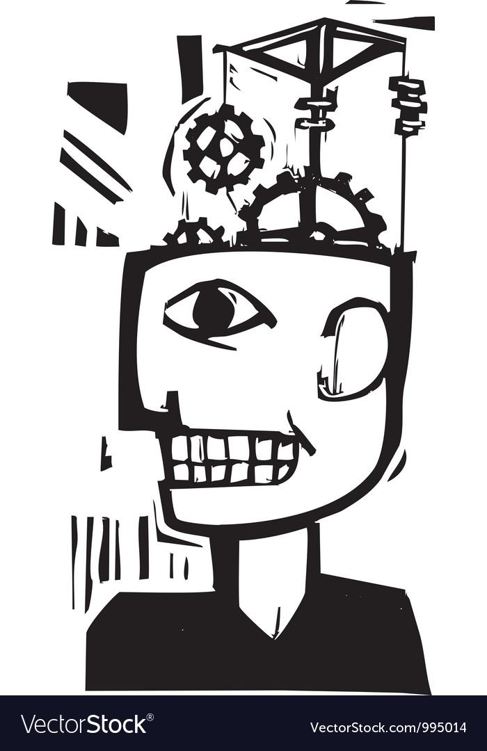 Machine mind vector   Price: 1 Credit (USD $1)