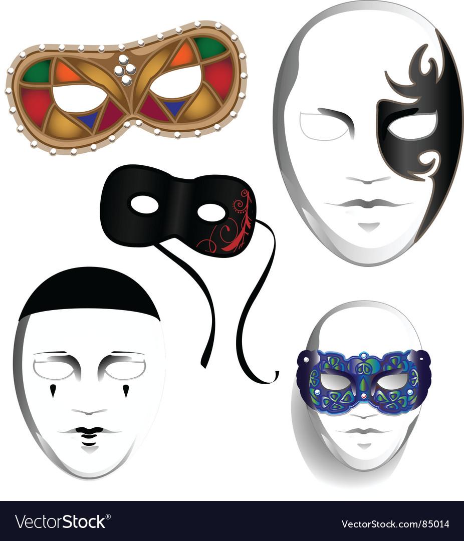 Masks vector | Price: 1 Credit (USD $1)