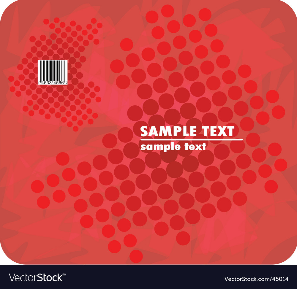 Red halftone vector | Price: 1 Credit (USD $1)