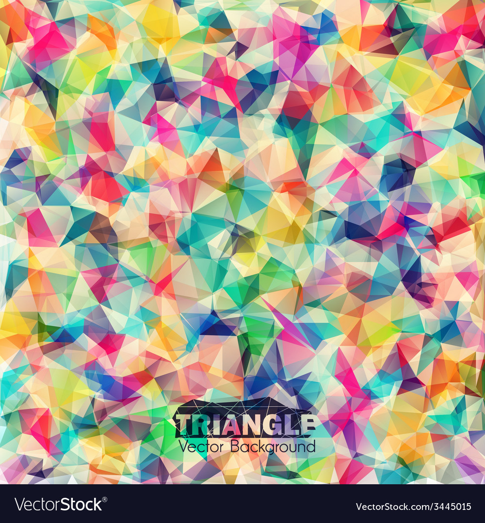 Abstract geometric colorful background vector   Price: 1 Credit (USD $1)
