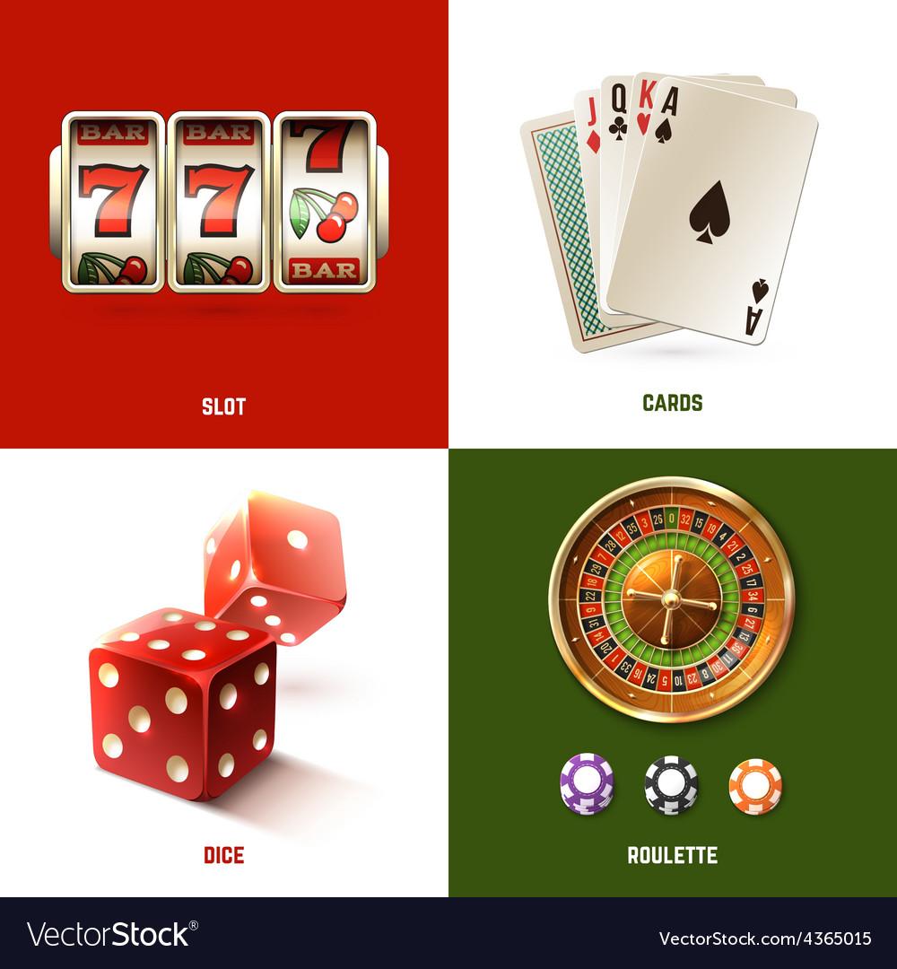 Casino design concept vector | Price: 1 Credit (USD $1)