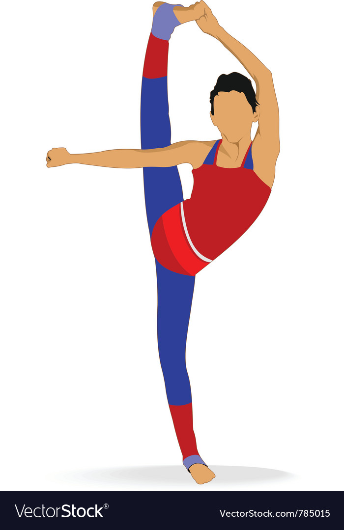Gymnast vector | Price: 1 Credit (USD $1)