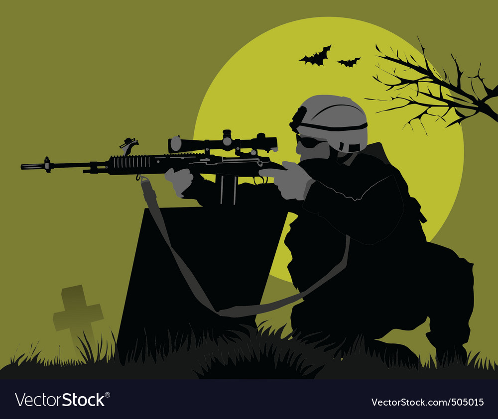 Moon soldiers vector | Price: 1 Credit (USD $1)