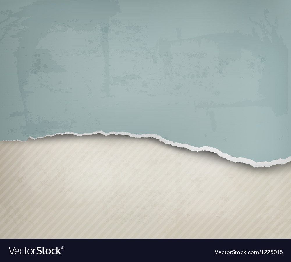 Old background with ripped paper and old wall vector | Price: 1 Credit (USD $1)