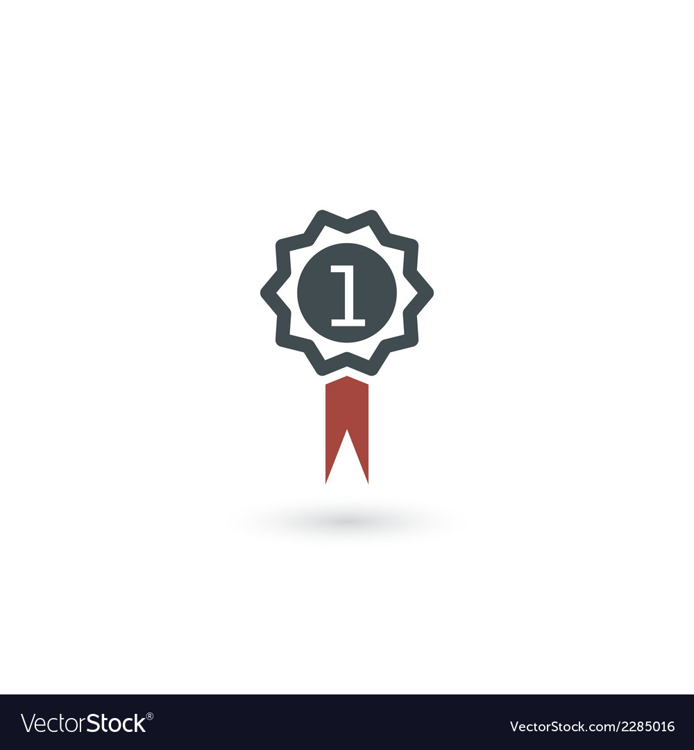 Award medal icon vector | Price: 1 Credit (USD $1)