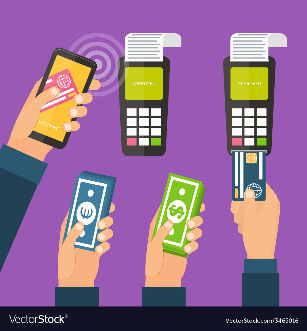 Mobile payments online banking vector   Price: 1 Credit (USD $1)
