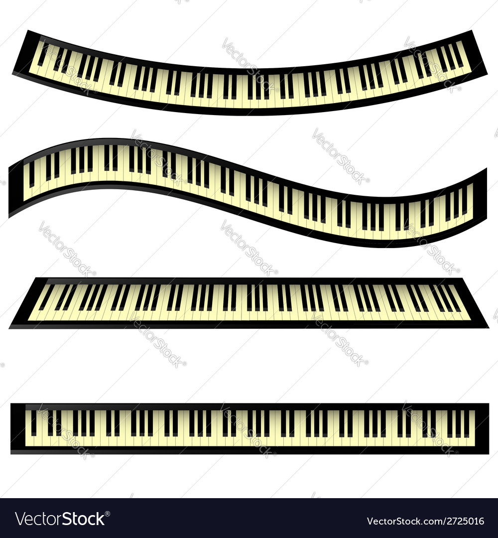 Set of keyboards vector | Price: 1 Credit (USD $1)