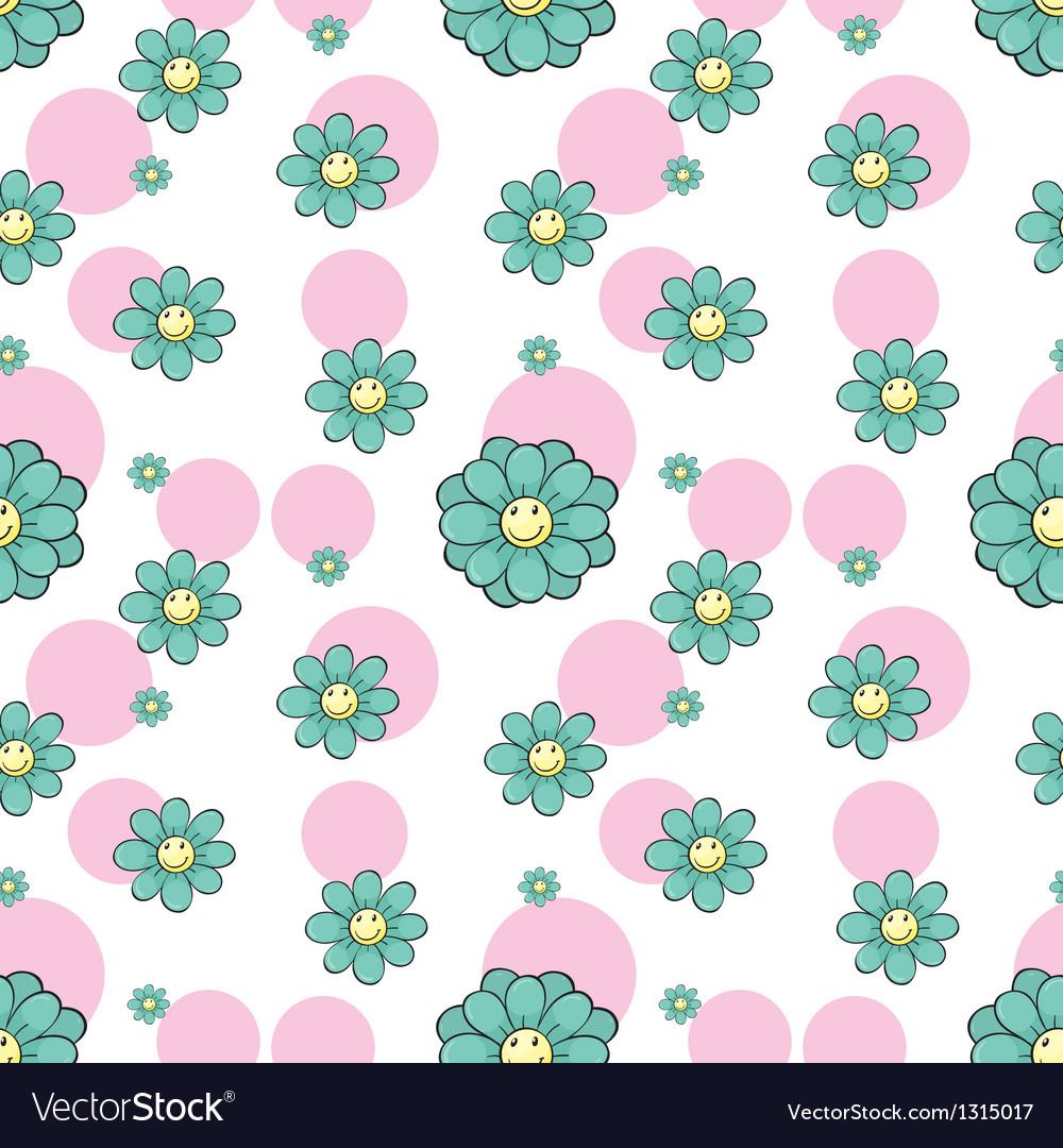 A seamless wallpaper design vector | Price: 1 Credit (USD $1)