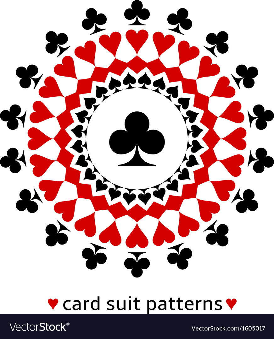 Club card suit snowflake vector | Price: 1 Credit (USD $1)