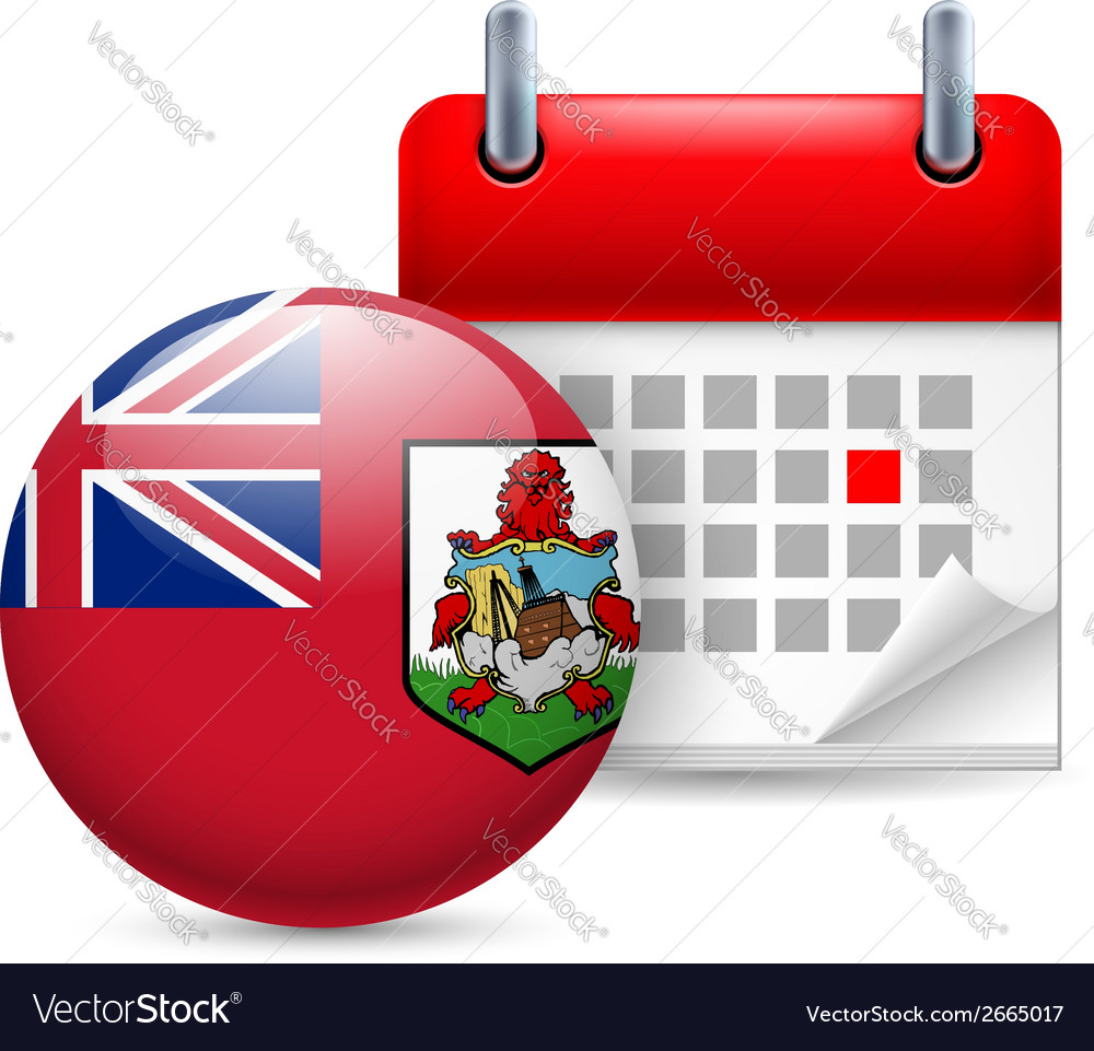 Icon of national day in bermuda vector | Price: 1 Credit (USD $1)