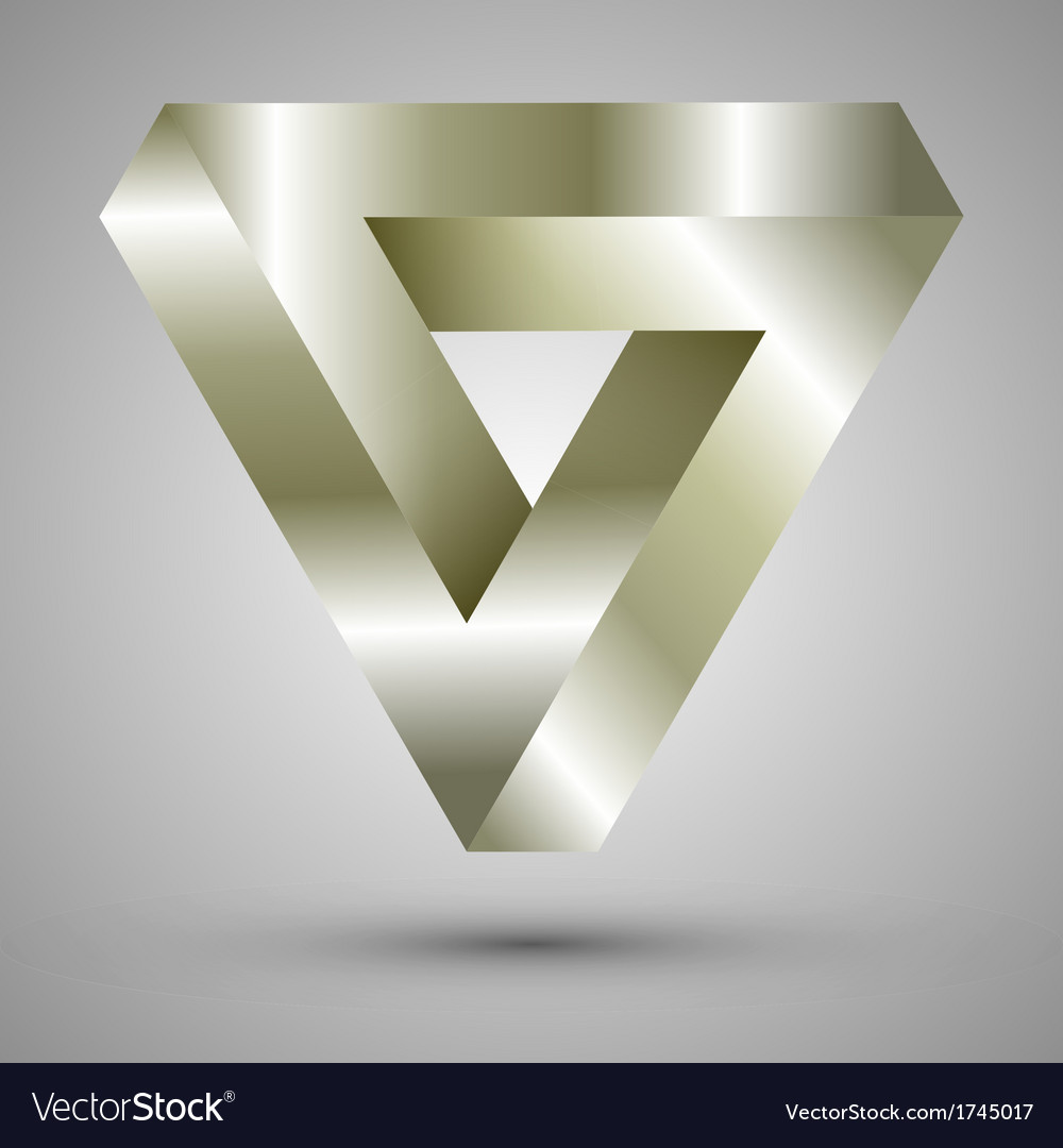 Infinite triangle vector | Price: 1 Credit (USD $1)