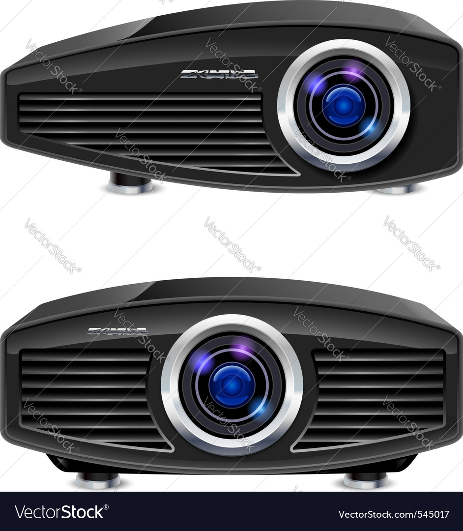 Multimedia projector vector | Price: 1 Credit (USD $1)