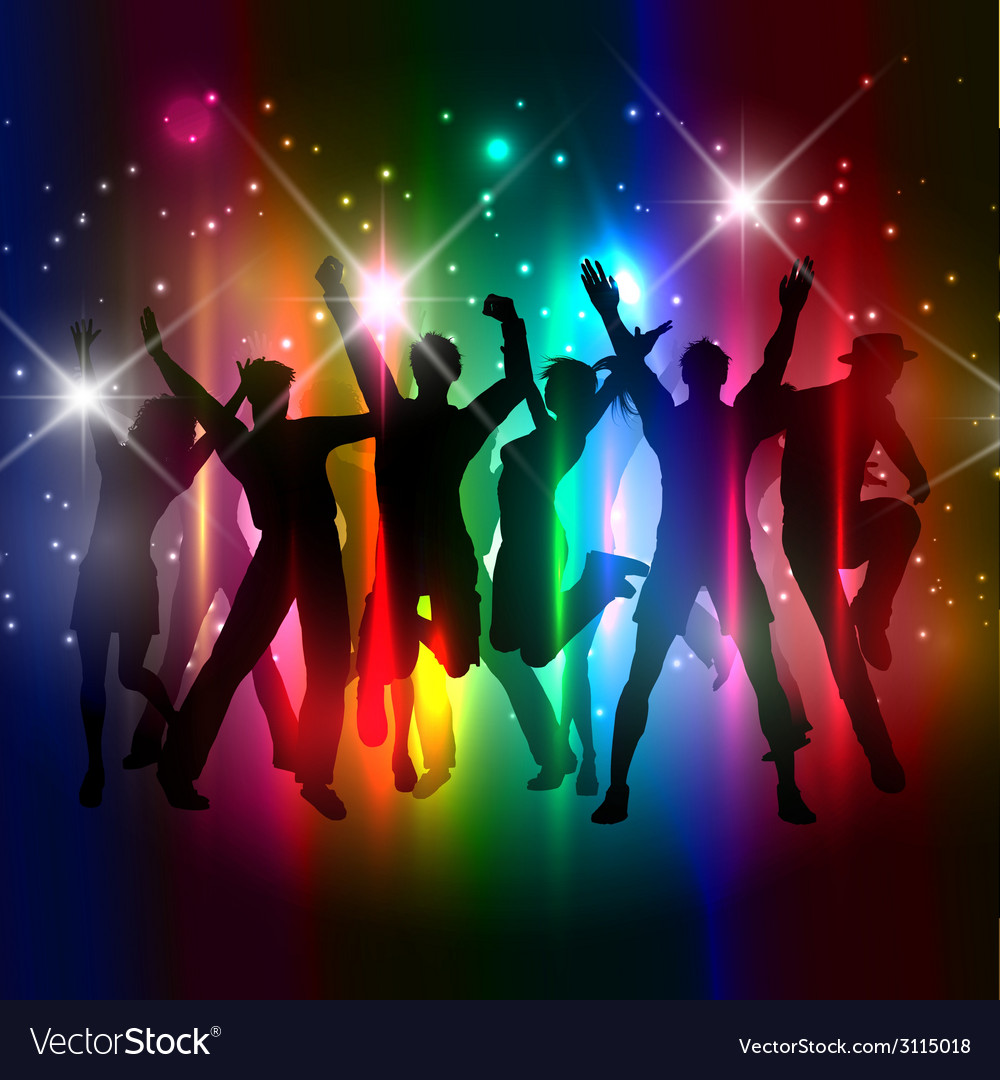 Party people background vector | Price: 1 Credit (USD $1)