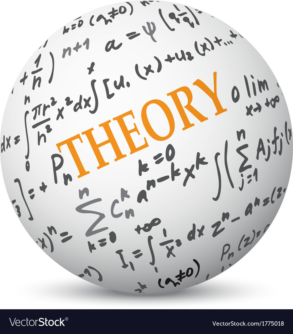 Theory concept on sphere vector | Price: 1 Credit (USD $1)