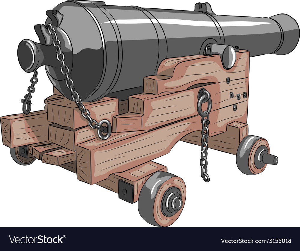 Ship gun a vector | Price: 1 Credit (USD $1)