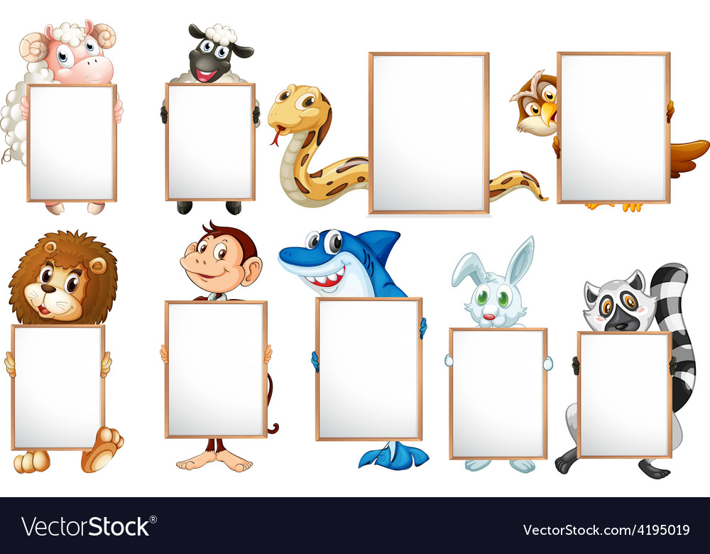 Animals and signs vector | Price: 3 Credit (USD $3)