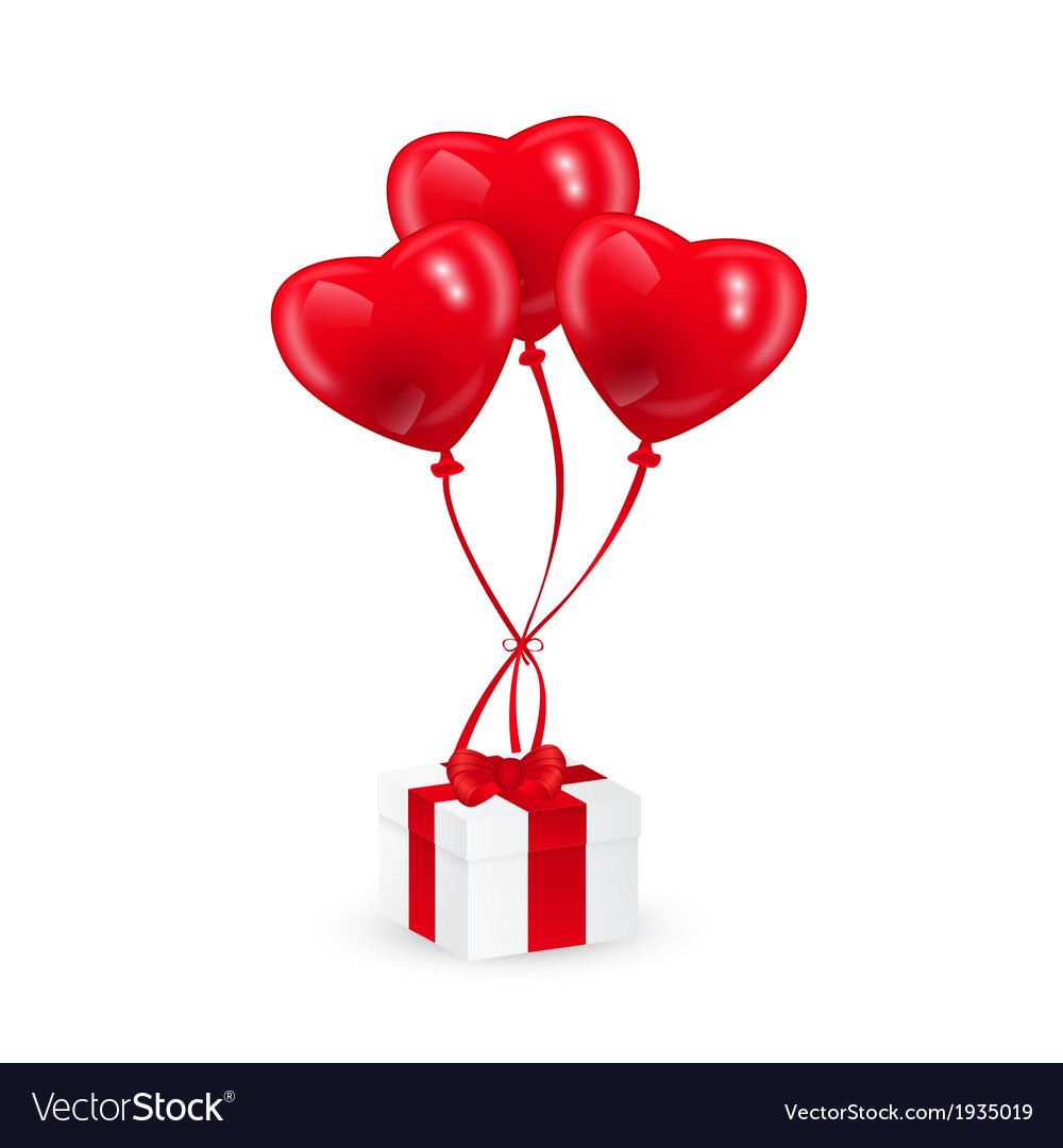Baloons and gift vector | Price: 1 Credit (USD $1)